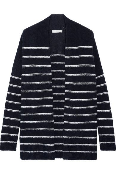 Vince Wool Striped Cardigan Brand New Unisex Cheap Price Very Cheap For Sale Discount Exclusive 2018 New For Sale Q9JxFN0