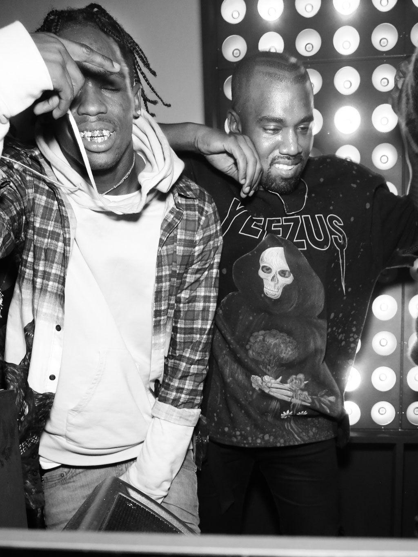 Lewis Apon Travis Scott Kanye West Style Hip Hop