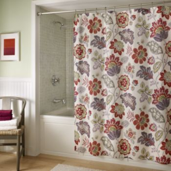 M Style Tessa Fabric Shower Curtain At Kohls