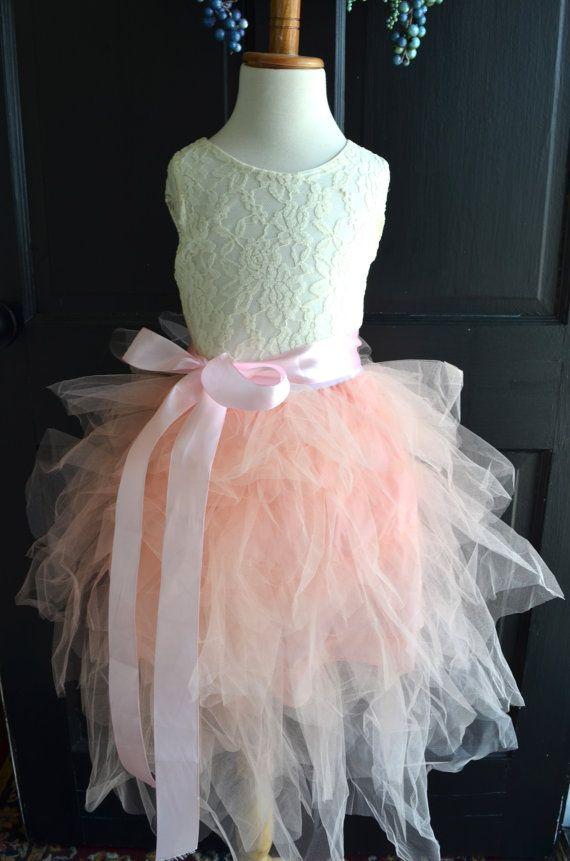 Rosa tutu kleid