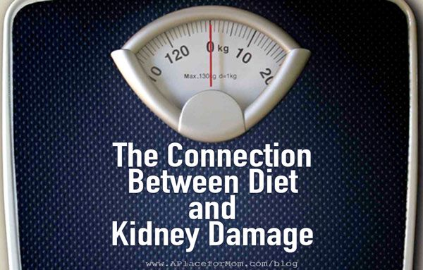 The Connection Between Diet And Kidney Damage