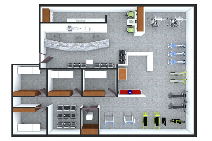 Gym Floorplan Architectural Floor Plans Floor Plan Drawing Floor Plans