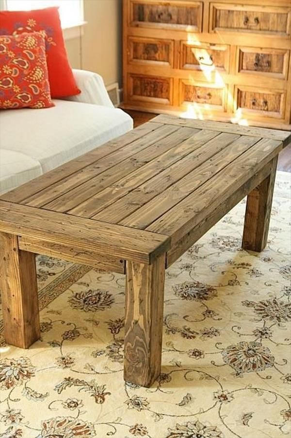 Sleek And Stylish Diy Coffee Tables Recycled Pallet