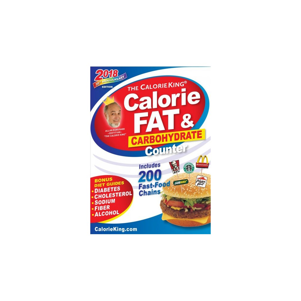 the calorieking calorie fat carbohydrate counter 2018