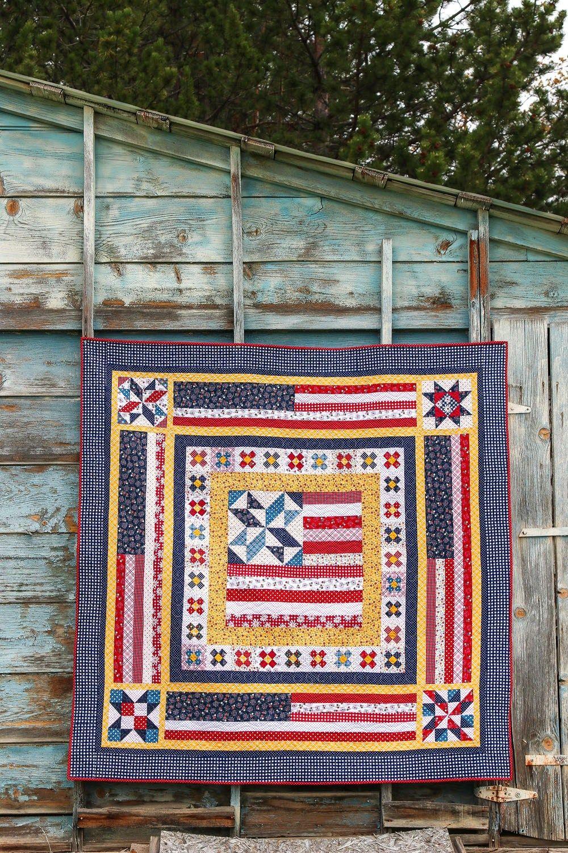 Americana Quilt Pattern Amy Smart