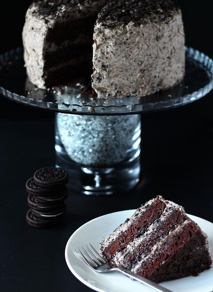 Vegan Oreo Cake Recipe Oreo Cake Chocolate Oreo Cake Oreo