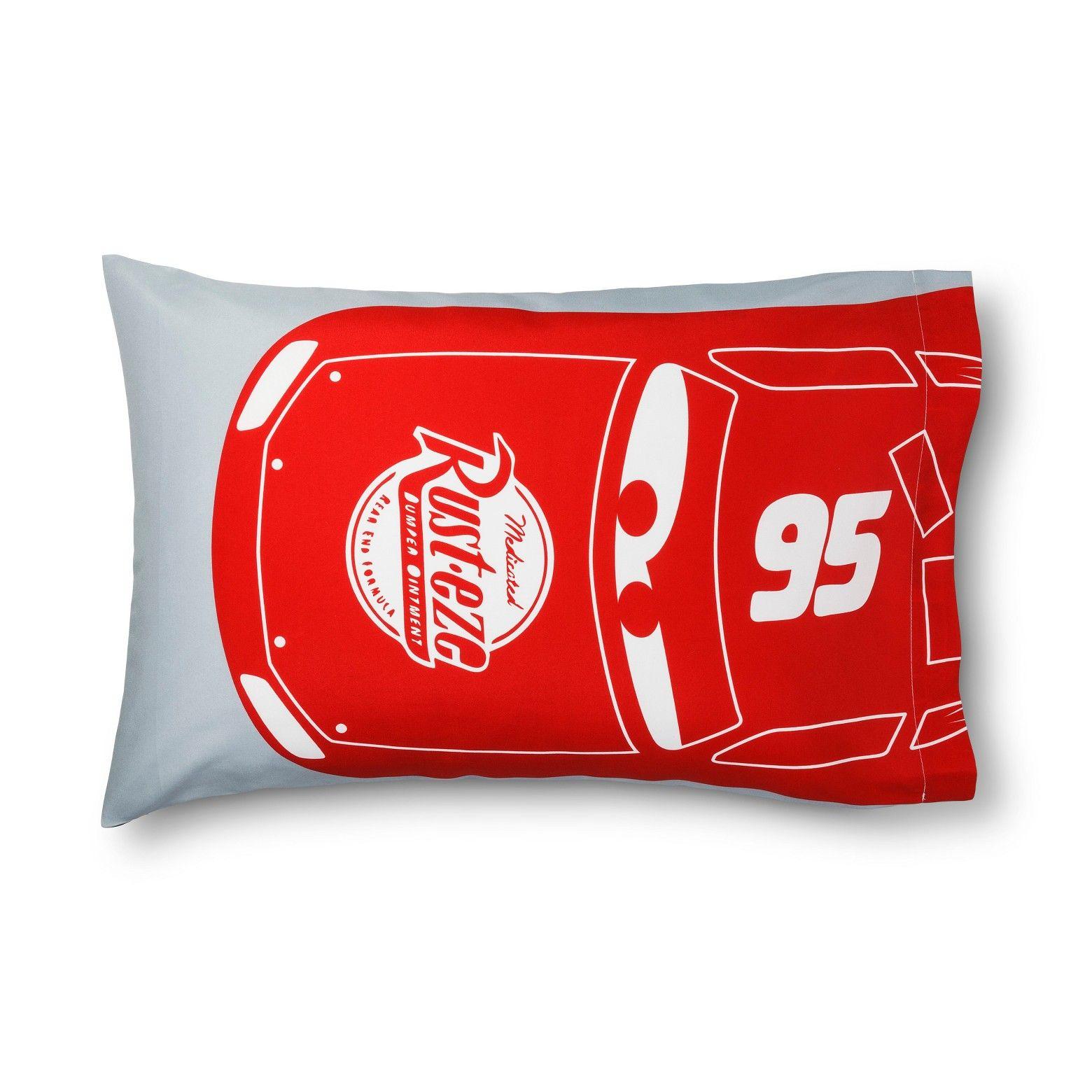 Disney Cars Lightning McQueen Pillowcase (Standard)