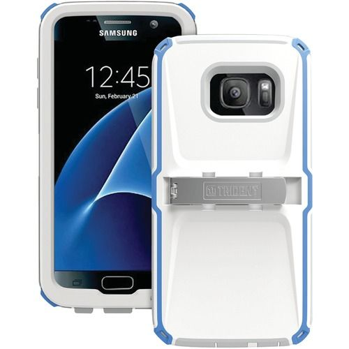 Trident Case Kraken Ams Case For Samsung Galaxy S 7 (blue And White And Gray)