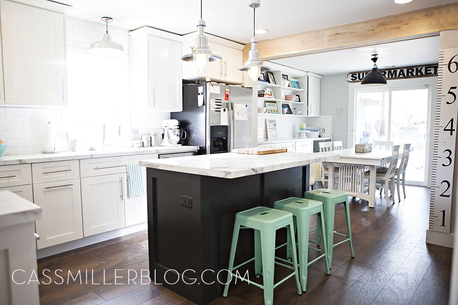 KITCHEN REMODEL- if I could redo my kitchen this is almost EXACTLY ...