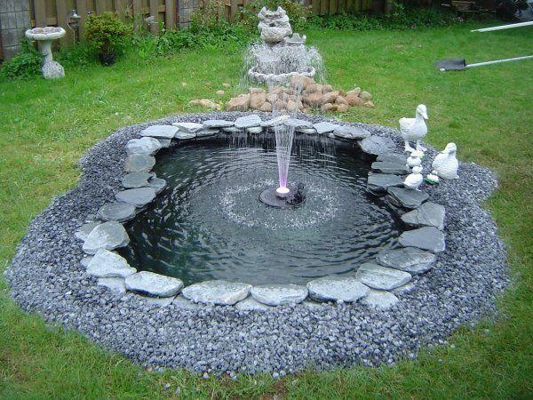 Comment faire son propre bassin de jardin en quelques étapes ...