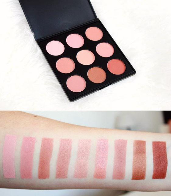 9n Blush Palette Cheek Makeup Beauty Makeup Hair Makeup