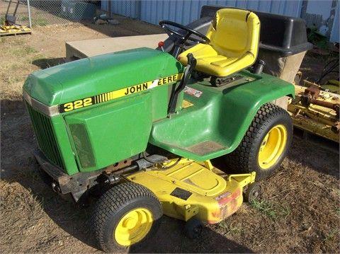 John Deere Lawn Mowers For Sale >> 1992 John Deere 322 Riding Lawn Mowers For Sale At Tractorhouse Com