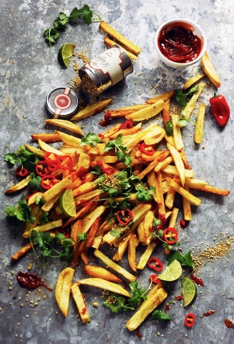 Duqqa and co. French fries - Recipe in English...