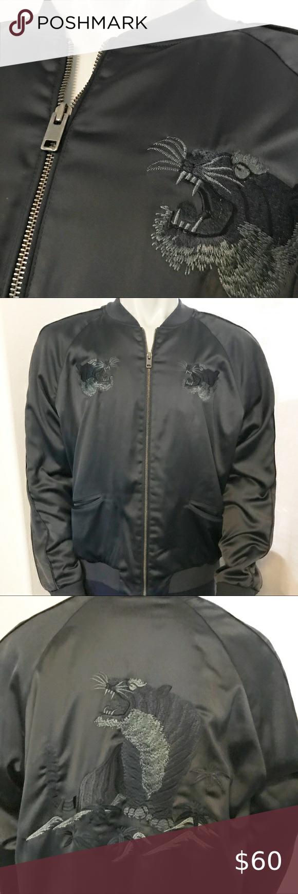 Express Mens Blue Tiger Bomber Jacket Bomber Jacket Wool Bomber Jacket White Leather Jacket [ 1740 x 580 Pixel ]