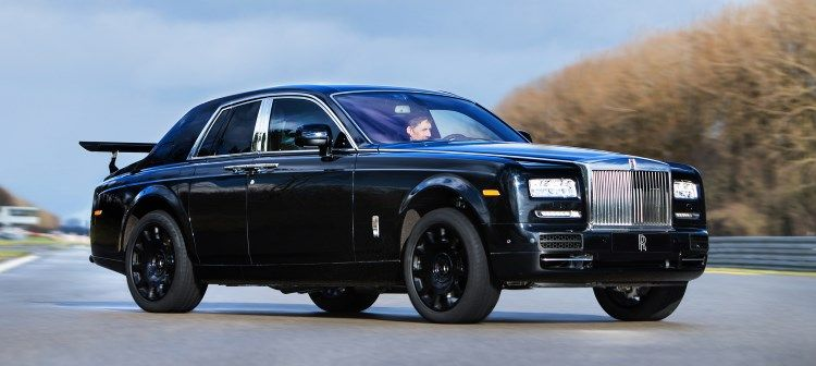You might have seen images on the internet of this rather strange looking Rolls-Royce Phantom, here is the real story behind it and also why.