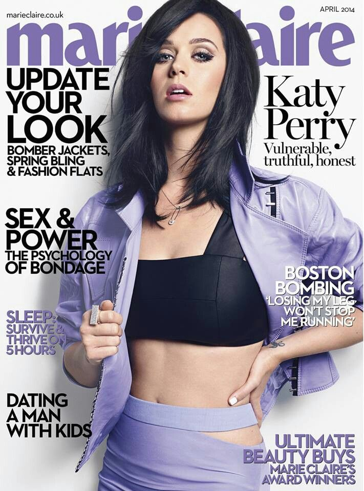 Cover girl Katy Perry