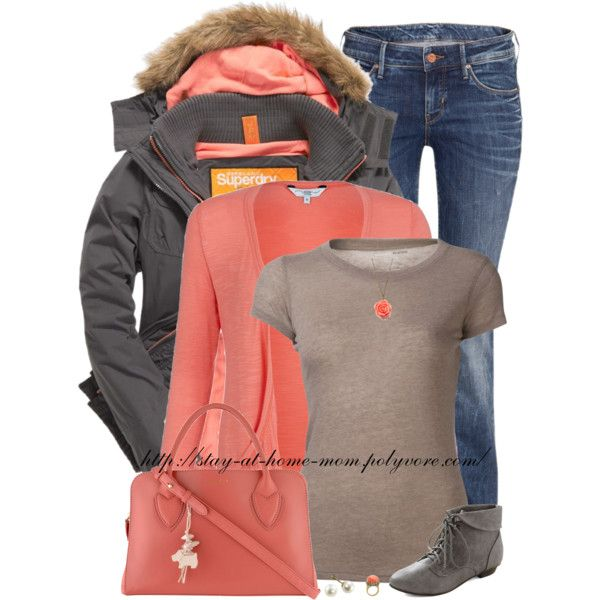 Coral Winter/Fall Outfit