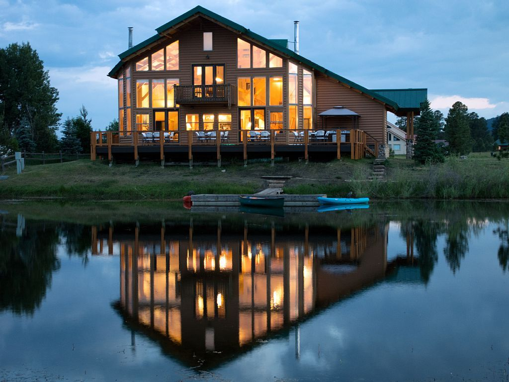 House vacation rental in lake hatcher park pagosa springs