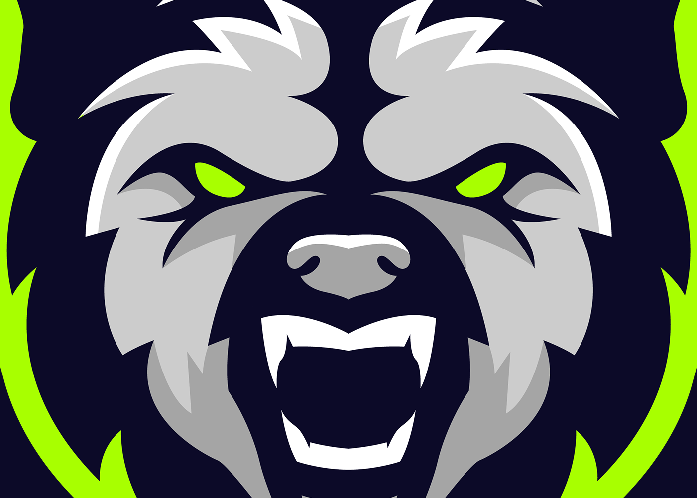 check out this behance project bear mascot logo for sale https [ 1400 x 1000 Pixel ]