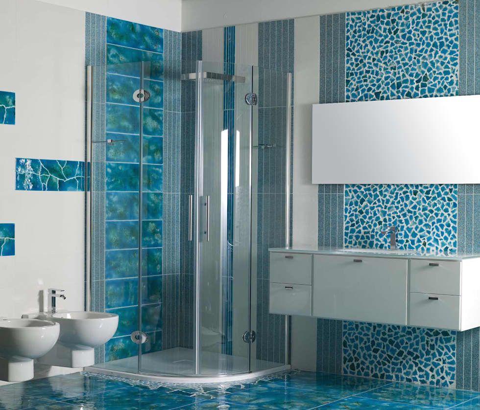 Homify Bagno In Stile Mediterraneo Pietra Turchese Homify Design Del Water Arredamento Bagno Arredo Bagno Turchese