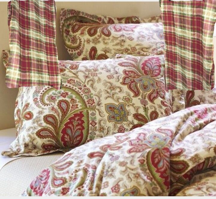 Pottery Barn Quot Charlie Quot Bedding Spring Global Plaid