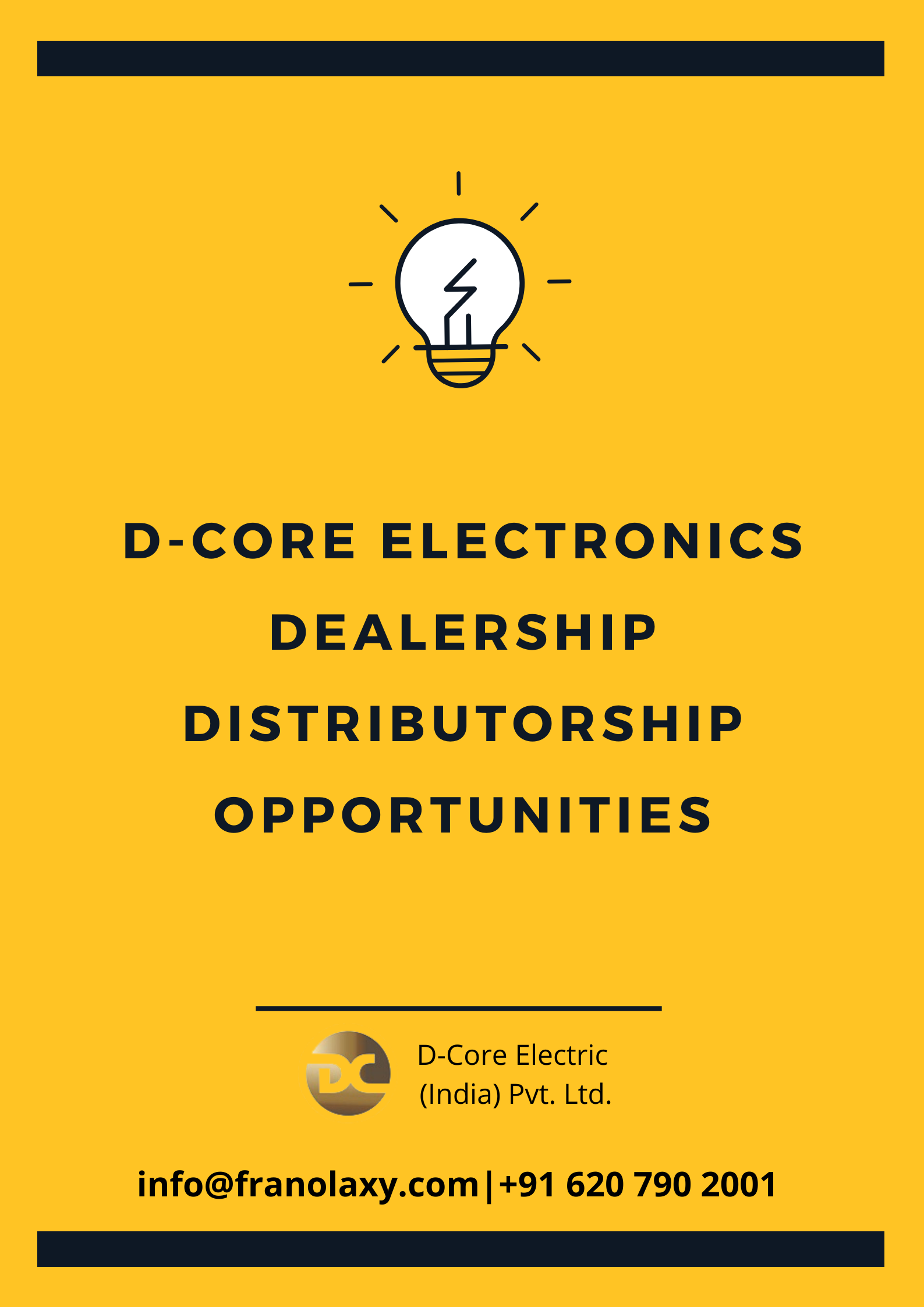 DCore Electronics Dealership/Distributorship