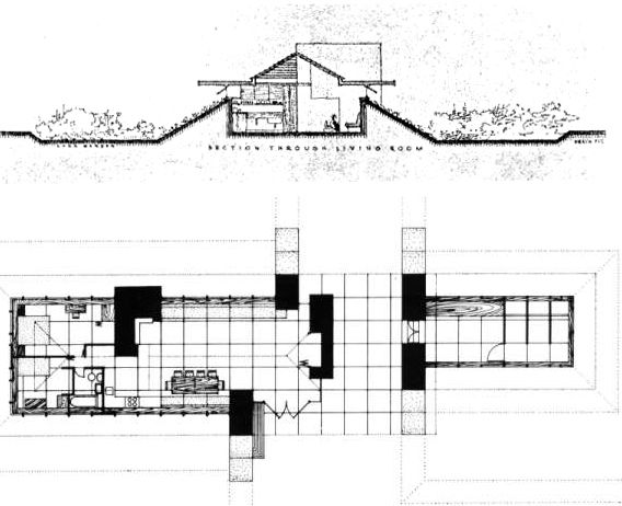 Frank lloyd wright rammed earth earth architecture Frank lloyd wright house plans free