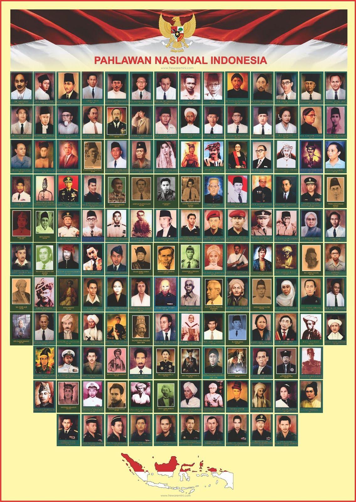 Foto Pahlawan Aceh Dan Namanya