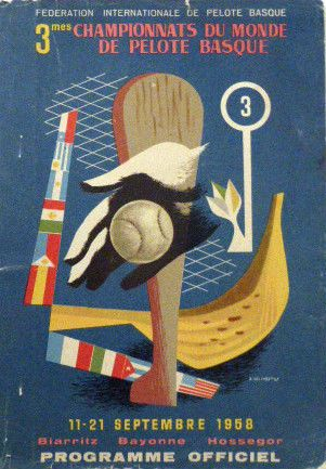 Programme-3eme-Championnat-du-Monde-de-Pelote-Basque-1948-Biarritz-Hossegor