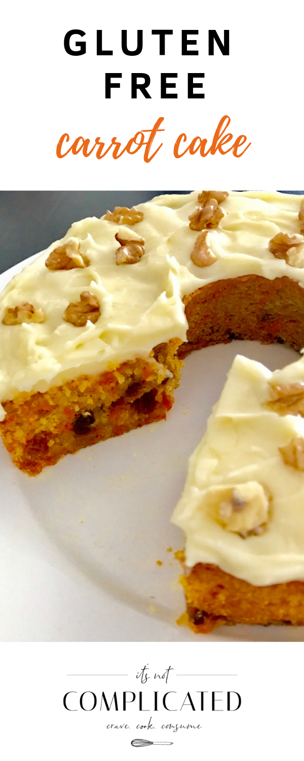 Gluten-Free Carrot Cake Gluten Free Carrot Cake - It's Not Complicated Recipes