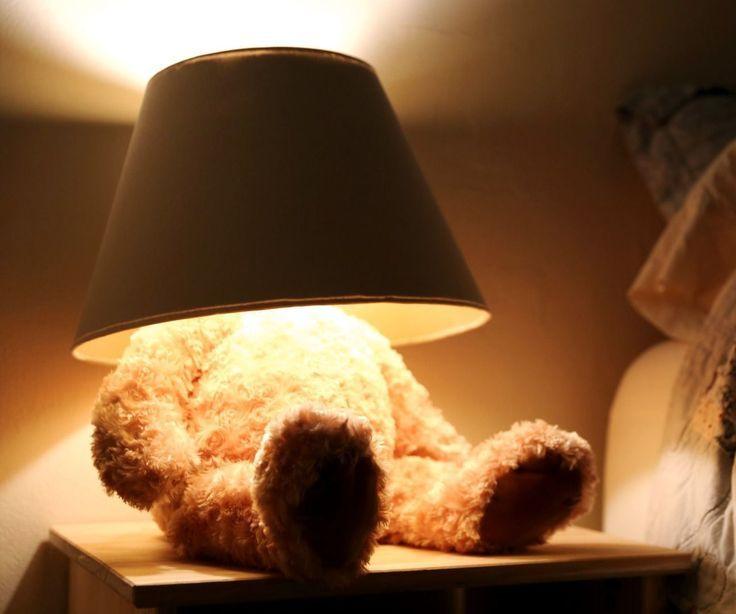 Teddy Bear Lamp Teddy Bear Room Diy Teddy Bear Lamp Inspiration