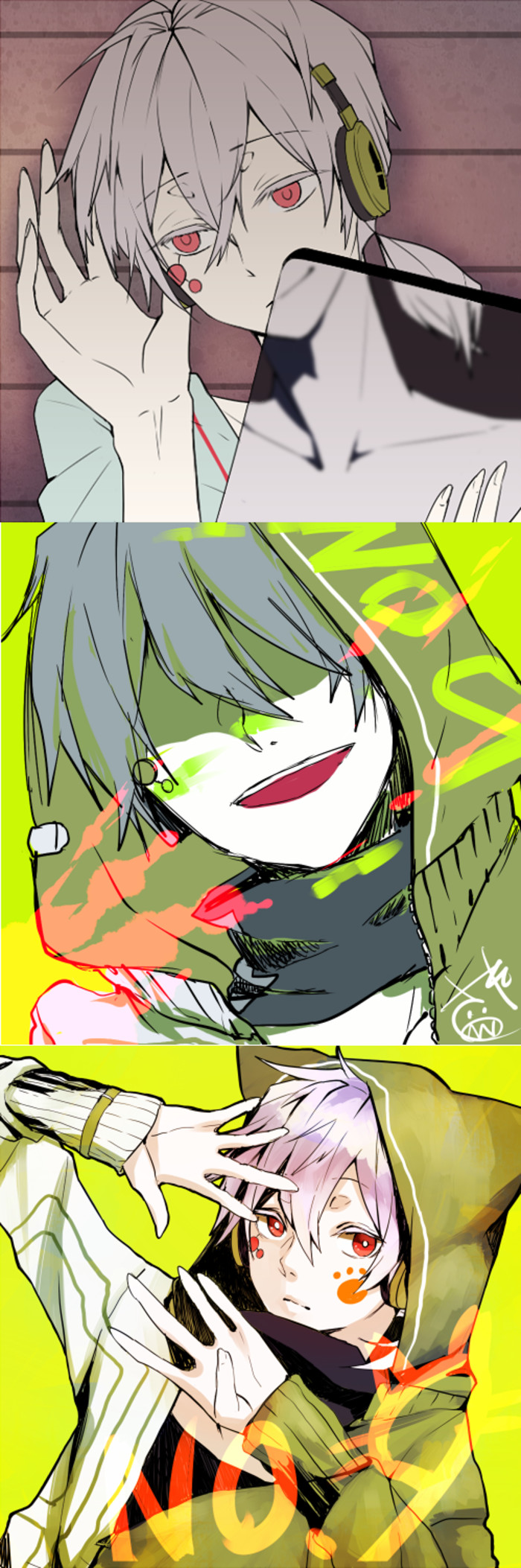 P站 Pixiv カゲ 来自檀濯的图片分享 堆糖 Anime Kagerou Project Anime Boy