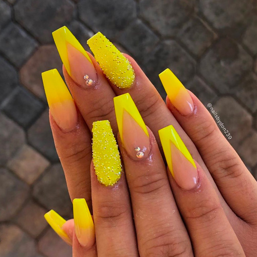 Best Nail Art 21 Unique Best Nail Art For 2020 In 2020 Coffin