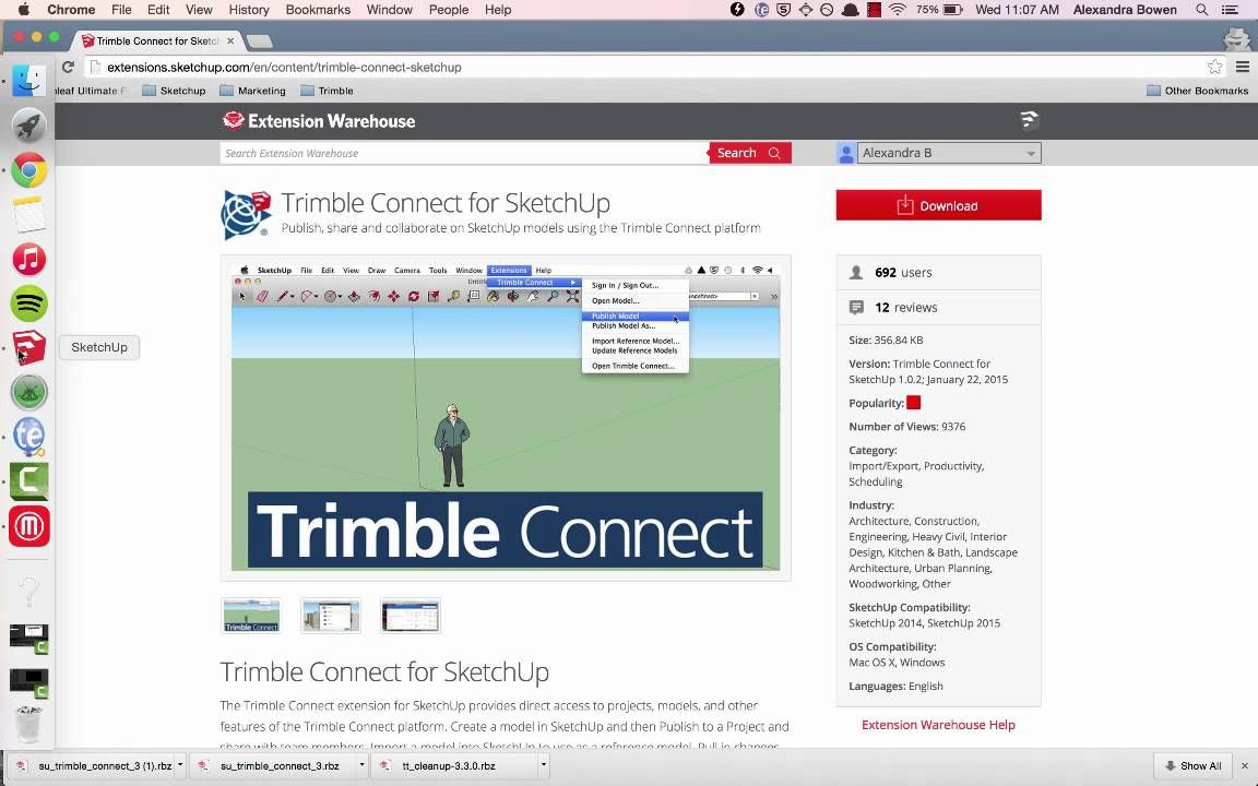 Sketchup Skill Builder How To Install An Extension Installation