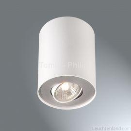 Plafon Pillar 1x35w Gu10 Biały 563303116 Philips