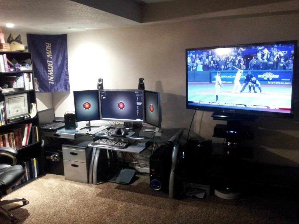 Mega Tv Desktop Setup Ideas Pinterest Grey Drawers