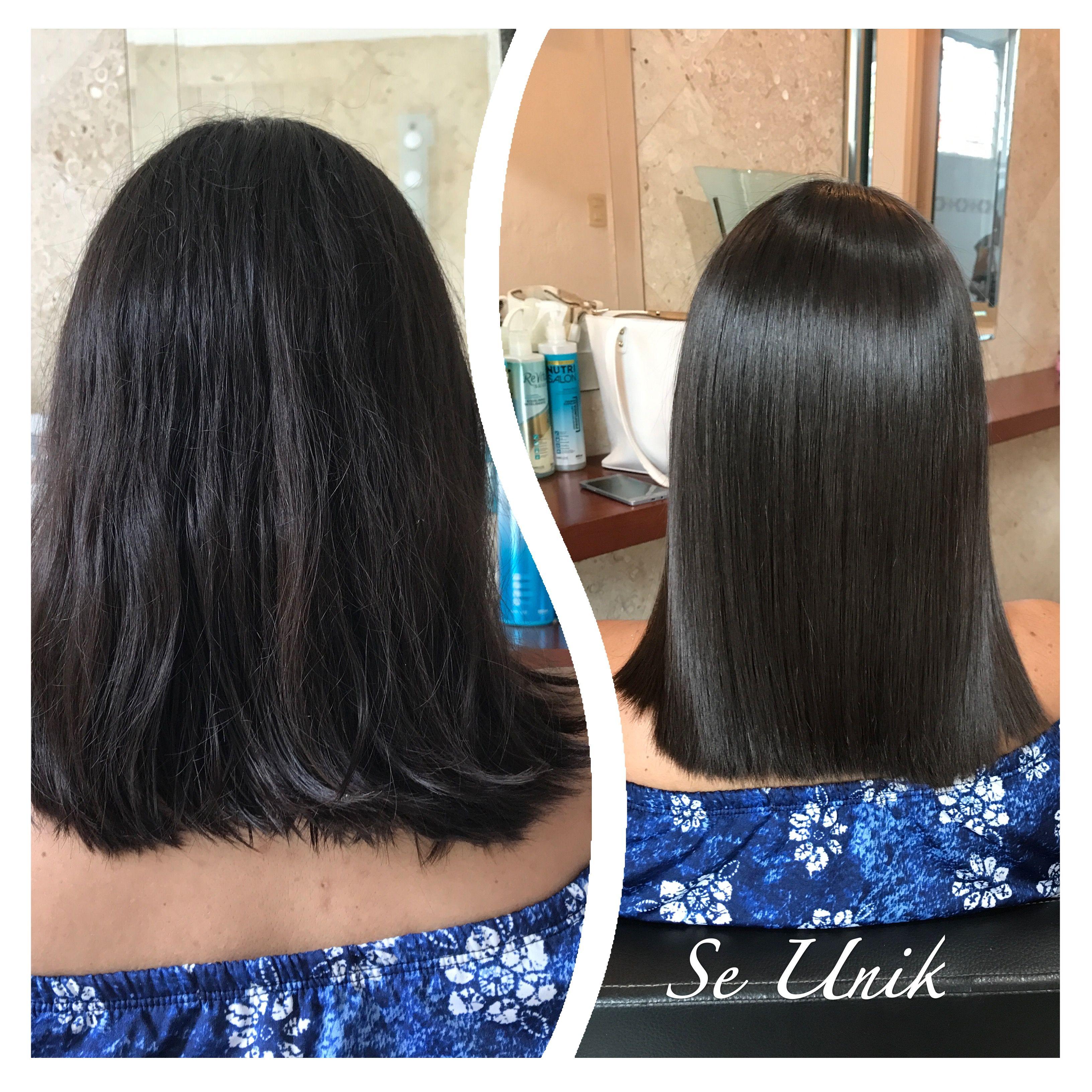 extensiones pelo antes y despues de adelgazar