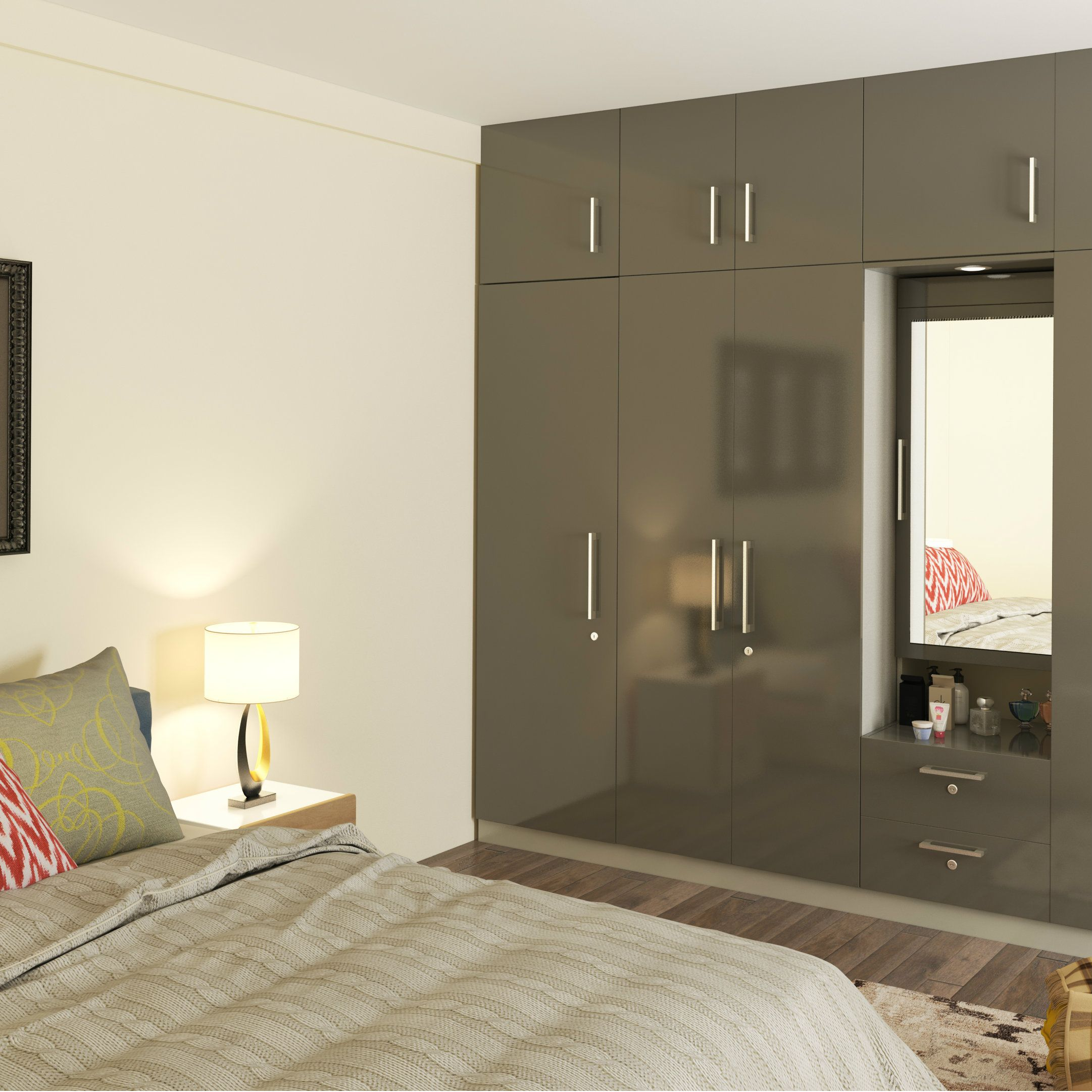 Pin on Modular Wardrobes for Bedrooms