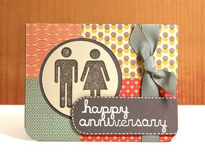 Lovely anniversary card