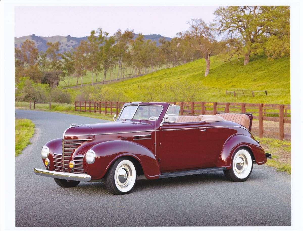 FOR SALE: 1939 Plymouth P8 Rare Rumble Seat Convertible | More at ...