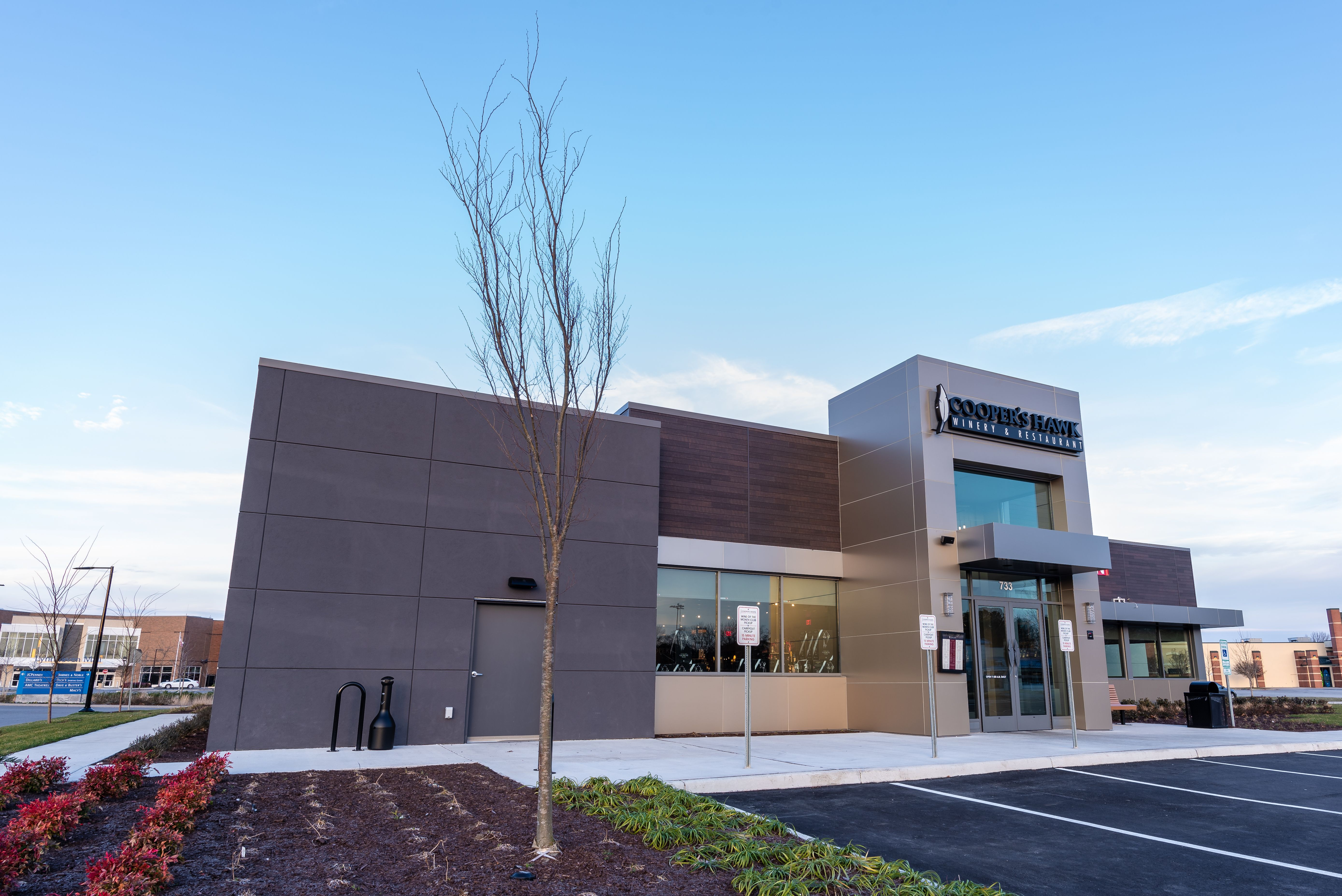 Cooper S Hawk In Virginia Beach Features Alpolic Mcm On The Exterior And Canopies Our Beautiful Colors Complement The Restauran Virginia Beach Beach Virginia