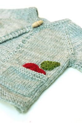 This is Knit Blog · Little apple