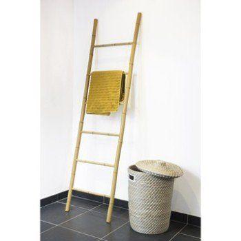 porte serviettes a poser bambou leroy merlin sdb pinterest