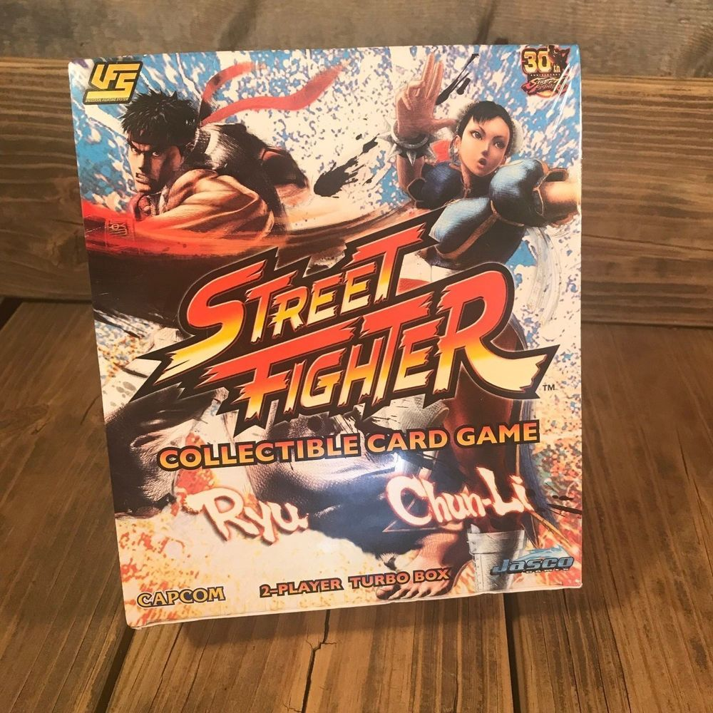 Details About Street Fighter Card Game Ryu Vs Chun Li New