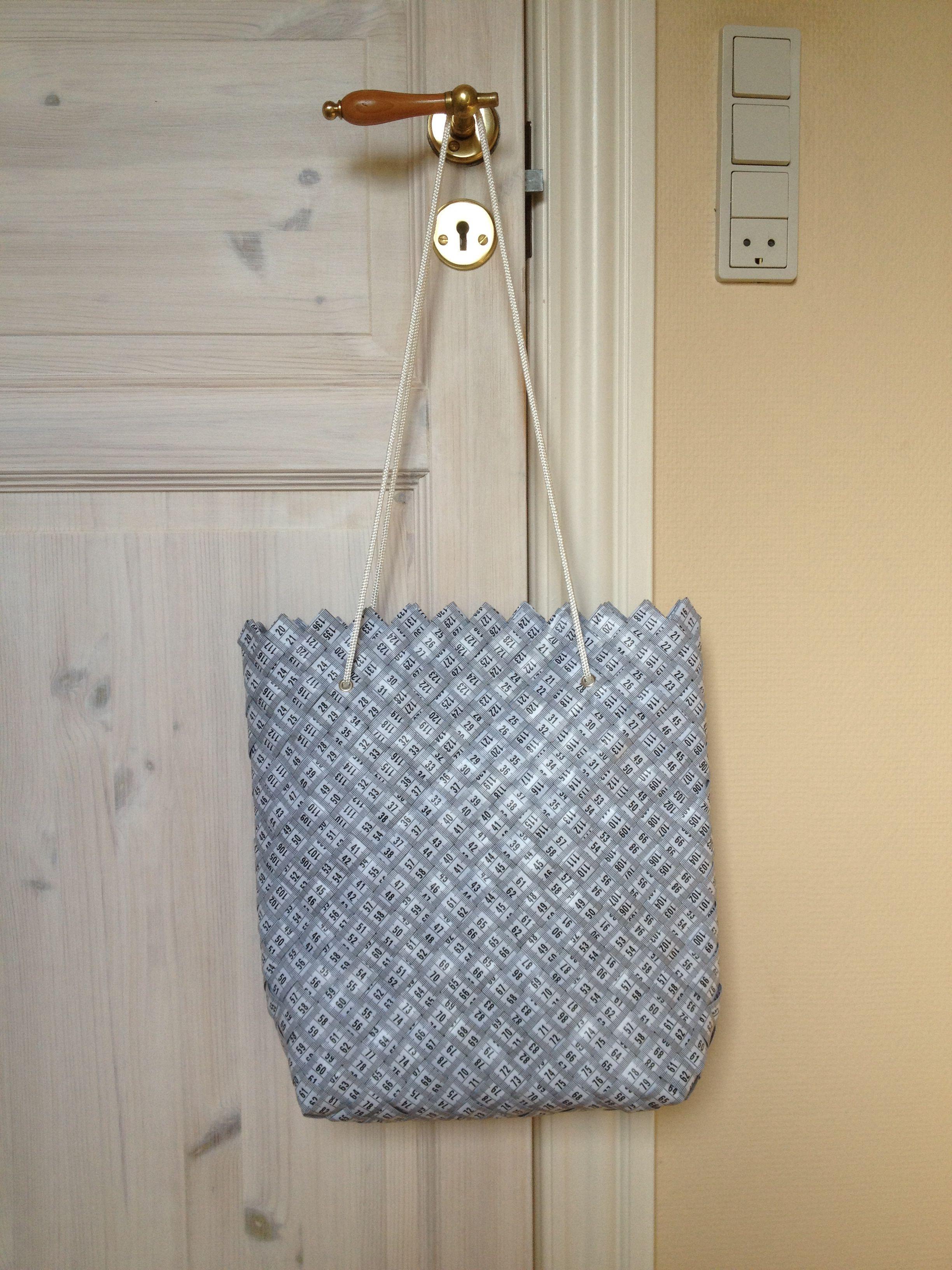 Taske lavet efter opskrift fra Hendes Verden