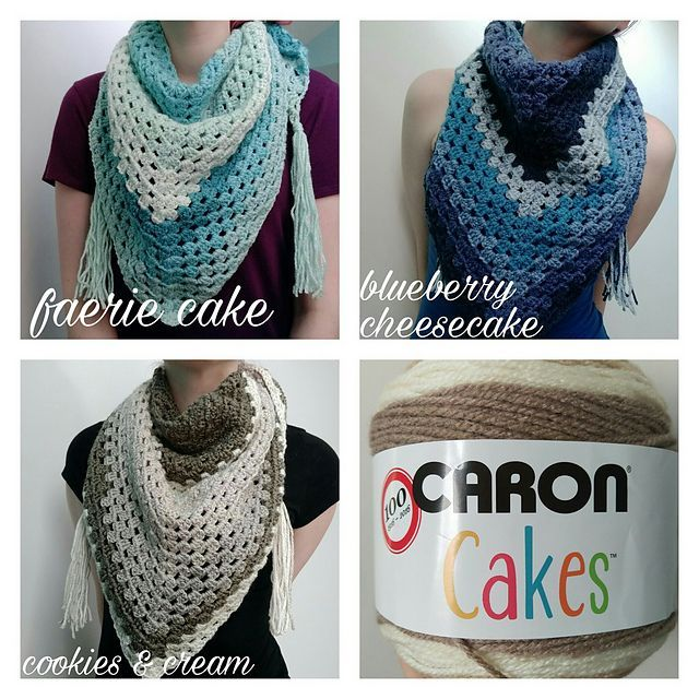 Ravelry Granny Triangle Scarf Pattern By Jamie Louise Crochet