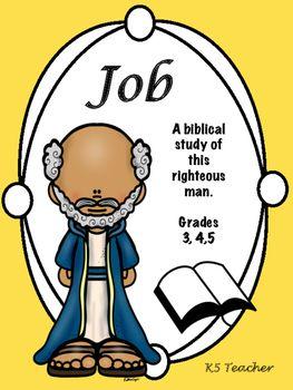 Bible Story Job Job Bible Book Of Job Bible Study For Kids
