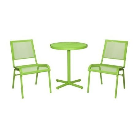 Room Essentials Lasalle 3 Piece Mesh Patio Bistro Furniture Set Green