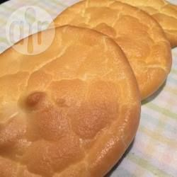 Foto da receita: Cloud bread (pão nuvem)