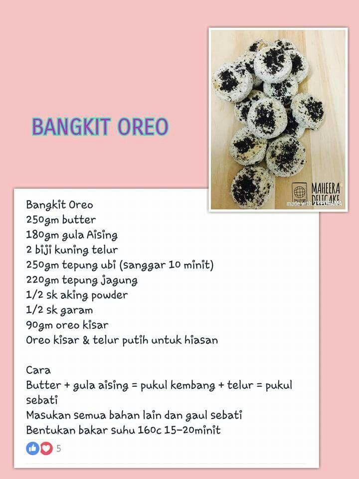 Pin By Zanariah Zainal On Resepi Biskut Cookie Recipes Bunt Cake Recipe Crunchy Cookies
